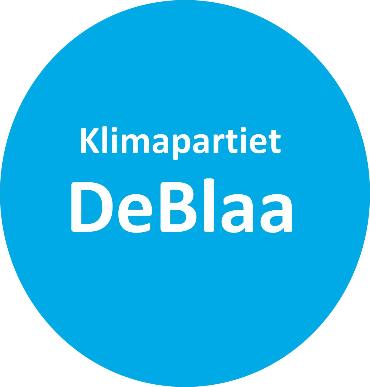 Klimapartiet DeBlaa